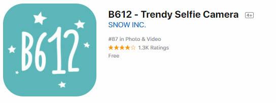 Descargar B612 para iOS
