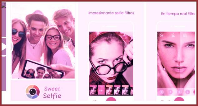 sweet selfie para Android vs B612